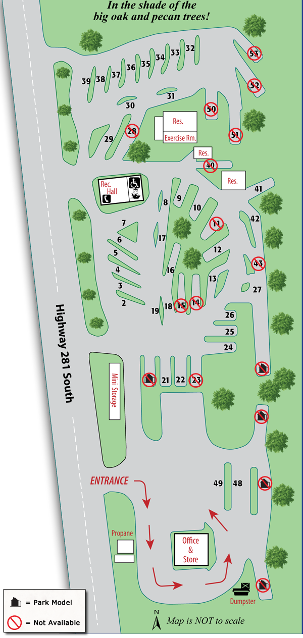 Rv camping park design pokemon go search for tips for Rv park blueprints